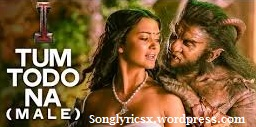 Tum Todo Na Dil Mera (Male) Song mp3 lyrics & HD Video- I  Movie